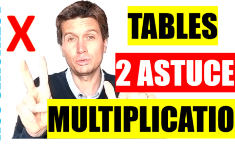 apprendre lest tables de multiplication facilement