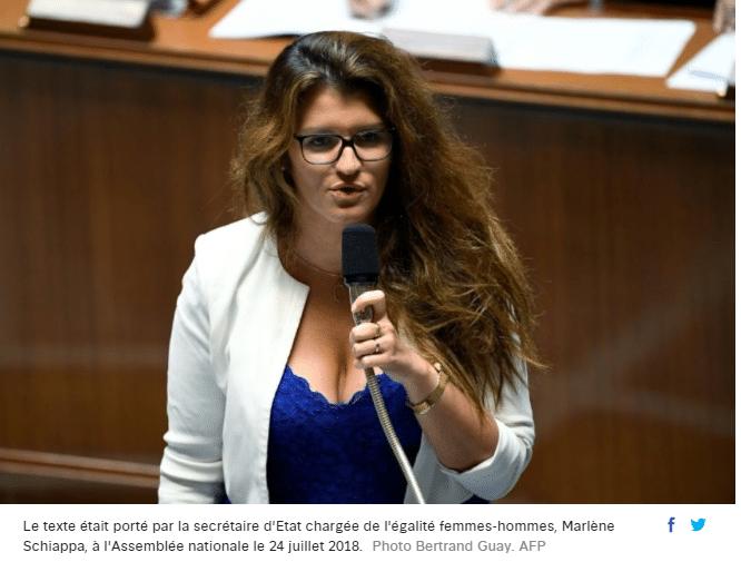 marlène shiappa loi sur l'égalité femme hommes