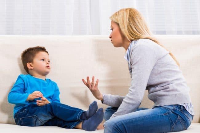 Discuter avec son enfant plutot que punir