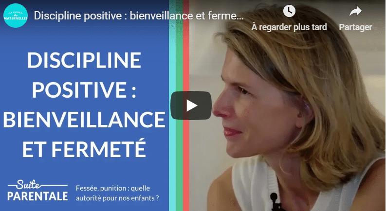 discipline positive Jane Nelson les maternelles