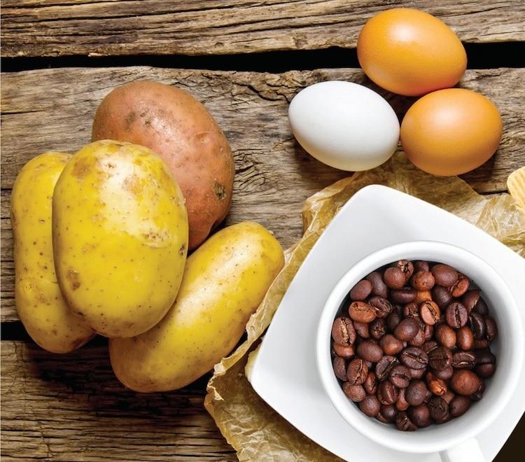 parentalité positive la pomme de terre, l'oeuf et le grain de café