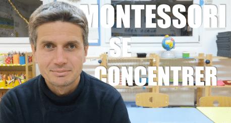Activités Montessori de retour au calme